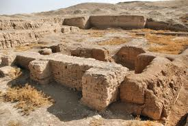 2ab - Lagash, Ninurta's brick-built city ruins, incredible artefacts of alien gods on Earth discovered by the archeologists, who were mostly out to prove the Bible is historically accurate