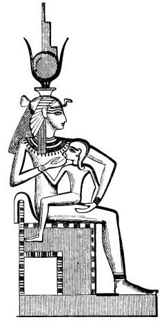 2ab - goddess mother Isis & miracle son Horus, Horus, miracle son, thanks to Ningishzidda, born to the deceased Osiris & living Isis, the Queen of Egypt, by way of artificial insemination performed by the DNA god Ningishzidda - Thoth