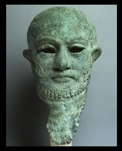 2ab - Ur-Nammu, Ninsun's son-king 2300-2000 B.C., Ninsun & Lugalbanda's mixed-breed giant son, appointed to be king of Ur by the giant alien gods, a perfect go-between for the gods & earthlings