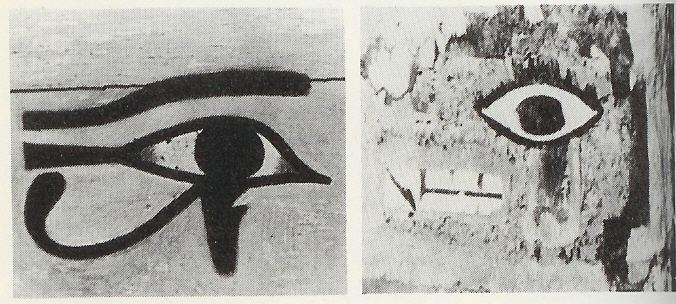 "2b - Horus in Ancient Egypt, & Ancient America, the one ""Eye"" became the very symbol of the giant alien god Horus, born on Earth to gods Ashur - Osiris & Isis, descendant of Enki & Marduk, the great gods on Earth Colony"