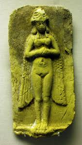 2c - winged pilot Inanna, the Goddess of Love, desired by both gods & their mixed-breed offspring made into kings