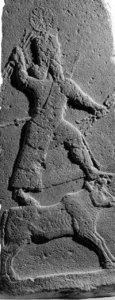 2d - Adad insures a king's victory at war with which ever kings who were loyal to his cousin Marduk or his sons Ashur & Nabu, alien giant Adad, who was on Enlil's side of Anu's descendants, who battled time & time again, against their cousins on the Enki side of Anu's descendants