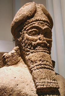 """2d - Nabu artefact from the Temple of Calah, a time in our long forgotten past, when the sons of god(s) came down from Heaven - planet Nibiru, colonized the Earth as theirs, fashioned """"modern man"""" from an existing creature, in their image, & in their likeness, to be replacement workers for the gods in the fields, mines, cities, etc."""