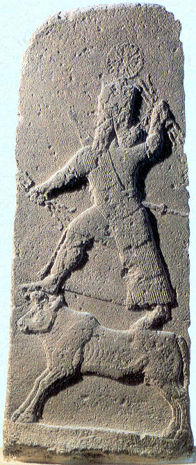 2e - Adad, war god upon Taurus the bull, artefacts of the giant gods are being shamefully destroyed by Radical Islam, attempting to eradicate historical evidence that directly contradicts the 7th century teachings of their prophet