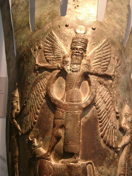"""2e - Sumerian god King Anu, father of the gods in Heaven & his prince commanders on Earth Colony, Enlil & Enki, the sons of god who came down to Earth, fashioned """"modern man"""" into their image & into their likeness, & then later had sex with the daughters of men"""