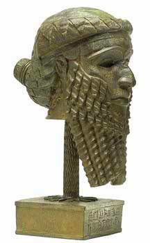 "2g - giant mixed-breed Sargon - 1st king of Akkad, a time in our long forgotten history when the ""sons of god(s) came down from Heaven"", ""had sex with the daughters of men"", produced offspring who became the Biblical ""Heroes of old, men of renown"", the ""mighty men"", the mixed-breed ""giants"", the 1st kings on Earth"