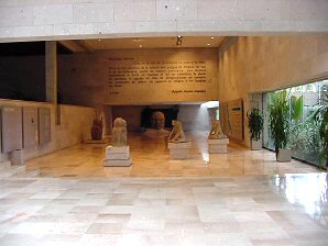 2g - museum with Olmec carvings, Ningishzidda's 1st civilization established in the Yucatan