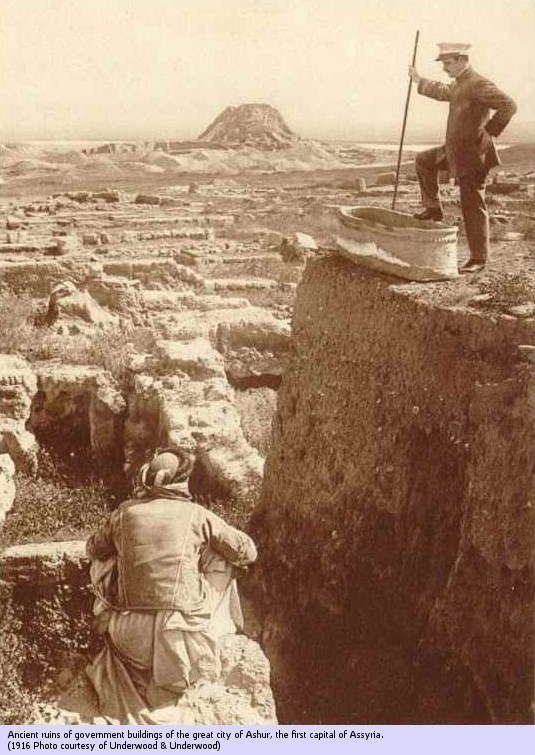 2i - city of Assur excavation, hundreds of thousands of artefacts & texts have been found in ancient Sumer, these artefacts have been distributed worldwide for the last one hundred years, foolishly Radical Islam thinks they can keep them from the public understanding of them