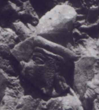 """2r - Enheduanna, mixed-breed author, Sargon's daughter, a go-between for the gods & earthlings, served both Inanna, & Inanna's father Nannar as his High-Priesress, just on example of hundreds of thousands of cuneiform texts, wall reliefs, stelea, clay tablet imprints, etc., Mesopotamian artefacts giving us mankind's 1st writings with accompaning carvings, early """"modern man's"""" 1st records of history"""