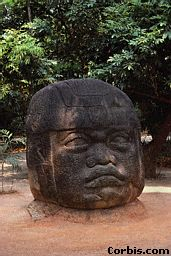 2u - Olmec head artefact, possibly a king's head, hundreds of Olmec heads have been discovered so far, kings carved in succession, Olmec's are black Africans shipped to the Yucatan by Ningishzidda due to his expulsion from Egypt by his brother Marduk, the 1st earthlings to inhabit So. America, as dislpayed by Sitchin in the Mexico City Museum