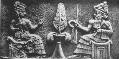 3 - Bau, aunt & spouse to Ninurta, was not equal to Ninurta , but still extremely powerful in decision making by the gods