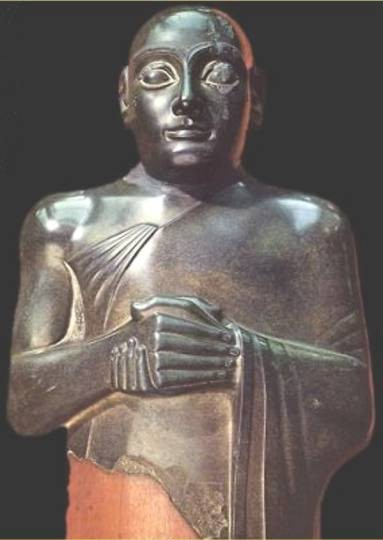 """3 - mixed-breed giant King Shulgi 2,000 B.C., Ninsun's mixed-breed son & king of Ur, when the """"sons of god(s) came down"""" from Heaven , had sex with the daughters of men, produced mixed-breed offspring, who became the Biblical """"Heroes of old, men of renown"""", the """"mighty men"""", the """"giants"""", the 1st kings on Earth"""