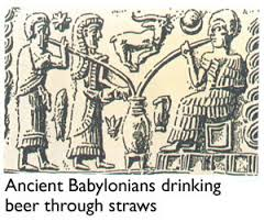 3 - Babylonian artefact of Ninkasi, goddess who tasted the brew, brew-master & teacher to earthlings of the brewing process, everyone was happy to have Ninkasi around, artefacts of the gods are shamefully being destroyed by Radical Islam, foolishly thinking they can hide & destroy knowledge of the alien gods, evidence that directly contradicts the power-brokers of Islam, fearing their loss of credibility