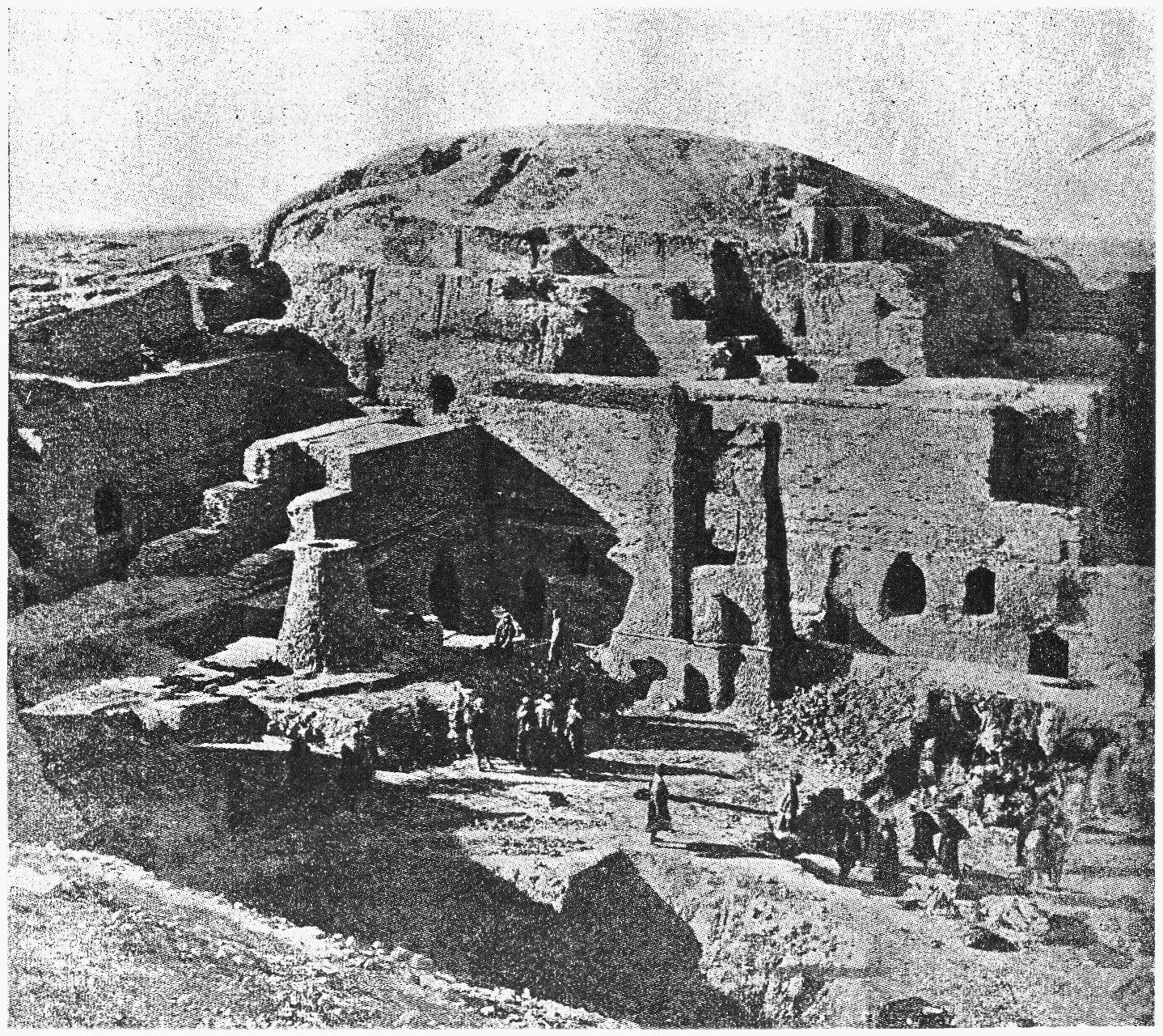 3ad - early excavation of Enlil's city, Nippur is between the Tigris & the Euphrates Rivers
