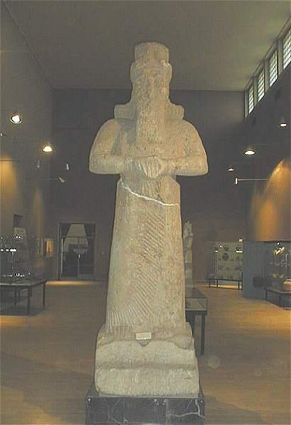 3b - giant alien god Nabu - found in Nabu Temple of Nimrud, Ninurta's city, fantastic artefacts of alien giant gods that once walked on Earth with man, safely put into a museum, then shamefully destroyed by Islamists, attempting to keep Muslims ignorant of our 1st records of ancient history