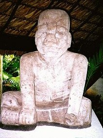 3c - Olmec artifact, Ningishzidda's 1st civilization established in the Yucatan