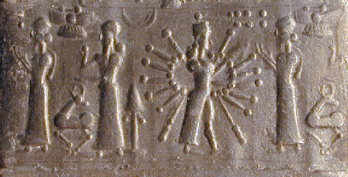 3p - Ninhursag, Enlil, & Inanna with powerful alien weapons, & eager to use them