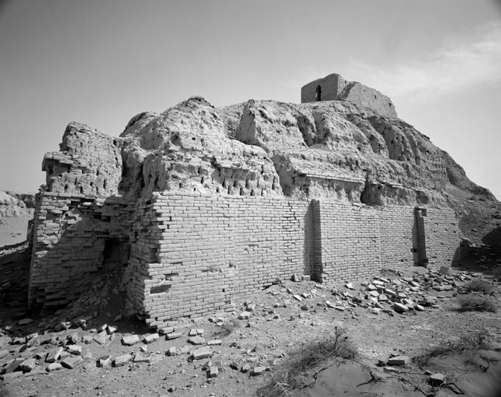 archaeological site of Nippur in Sumer, Enlil's city of mud brick survives after thousands of years of weathering