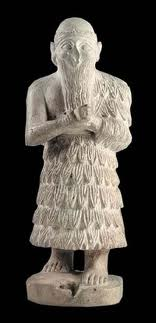 "4 - Eannatum 2,600-2,500 B.C., Ninurta's chosen mixed-breed king of Lagash, approved by ""Enlil who's say on all things is final"""