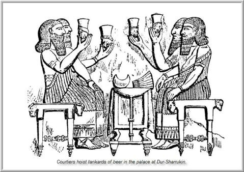 4 - the drinking bouts of the gods, sometimes lasting for days, the giant alien gods of Nibiru put away enormous quantities of beer & wine, the manufacturing of them was key!, artefacts of the alien gods are being destroyed by Radical Islam, foolishly thinking they can hide & destroy knowledge of the alien gods, evidence that directly contradicts the power-brokers of Islam, fearing their loss of credibility