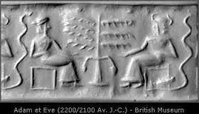4a - Enki & his sister Ninhursag decide to use a creature Enki found roaming wild in SO Africa, for the modifications of Anunnaki DNA mixed with the primitive upright earthling creature