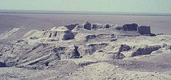 4d - Eridu remains, Noah's Flood & nuclear war destroyed Eridu,  & Sumer in general