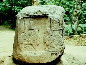 4d - Olmec mothers with child artefact, Ningishzidda's 1st civilization established in the Yucatan