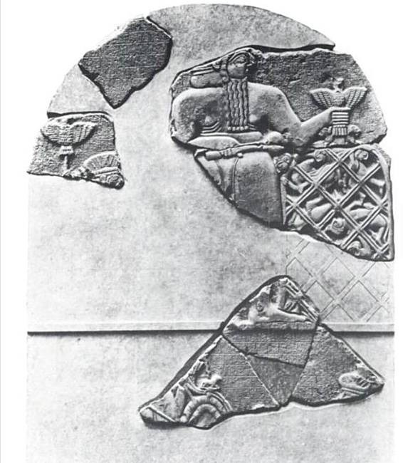 4j - Ennatum's victory stela, the gods & giant mixed-breeds of Mesopotamia are being destroyed by Radical Islam, attempting to eradicate all ancient historical records that may contradict the teachings of their prophet