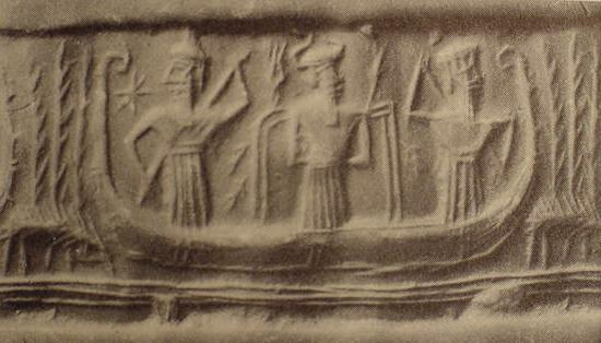 5 - Enki lived in the abzu marshes of Eridu, the gods quickly cut canals, set up irrigation systems, & started shipping on the Euphrates & Tigris Rivers in Sumer