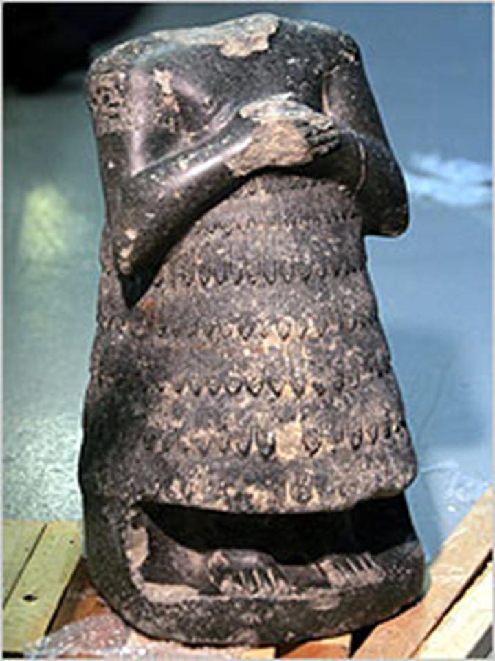 5 - mixed-breed Entemena, enshi - high-priest of Lagash, artefacts like these of Mesopotamia are being destroyed by Radical Islam, attempting to eradicate all ancient historical records that may contradict the teachings of their prophet