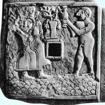 5aa - Ninhursag & high-priest in attendance, when the sons of gods had sex with the daughters of men, their offspring were giants, & usually appointed to a position close to the gods