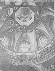 5c - Dome of San Lorenzo, Turin 1668-87, with the 8-pointed star symbol of Anu, later given to Inanna the Goddess of Love & Venus the Planet of Love