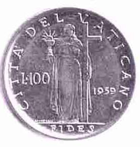5g - Vatican Coin of the giant Inanna / Columbia / Liberty, all throughout history, determining all civilizations, governments, & religions