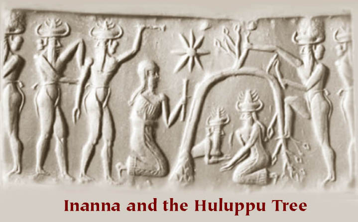 6 - Inanna, deceased spouse Dumuzi, & the Underworld, SEE INANNA'S DESCENT TEXTS ON THIS PAGE