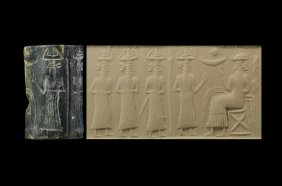 6b - Enki & his sons in the Abzu, 1/2 of the next generation of gods on Earth, under Enki's side of the royal family