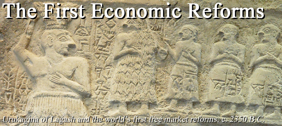 6c - Uru-kagina, NInurta's mixed-breed king of Lagash, Uru-kagina declares the Earth's 1st economic reforms known today