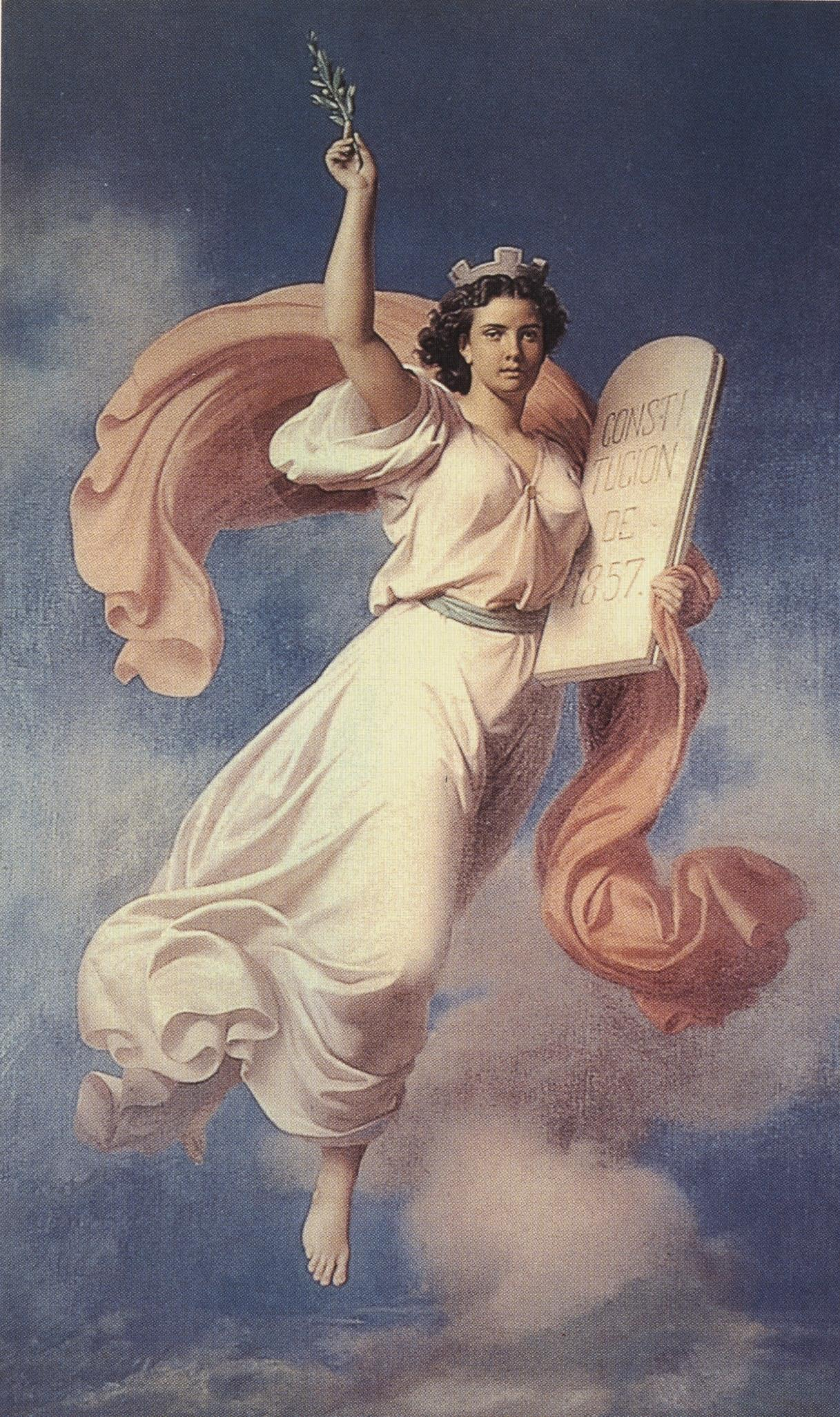 6d - Columbia - Liberty, goddess assisting in the origination of another new country