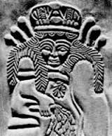 6ee - Ninhursag, worked on primitive man to fashion workers for the giant alien gods
