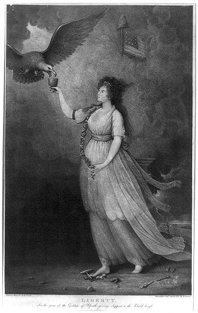6l - Liberty, goddess of youth 1796