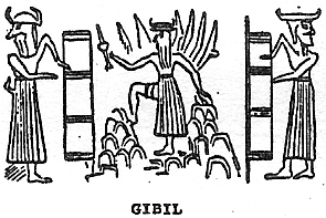 7a - Utu cuts the launch & landing sites for the giant alien gods into the mountains, the ladder - launch towers used exactly as we use them with modern launches today, technologies of the ancient Mesopotamian gods that we are just learning