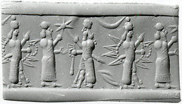 7a - alien gods with powerful high-tech weapons being cautioned on using them, Inanna, her grandfather Enlil, & her uncle Adad, artefacts of the gods & mixed-breed giant kings are being destroyed by Radical Islam, attempting to eradicate any ancient long forgotten evidence that directly contradicts the 7th century teachings of their prophet