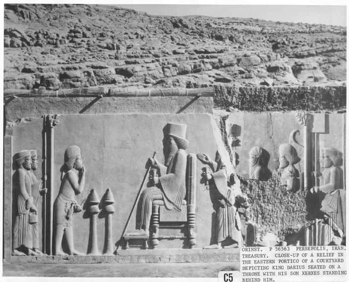 7l - ancient wall relief artefact of giant mixed-breed King Darius seated upon his throne, artefacts of the alien gods & mixed-breed giants are shamefully being destroyed by Radical Islam, attempting to eradicate ancient evidence that directly contradicts the 7th century A.D. doctrines of Islam