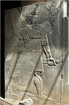 8 - Ninurta's city of Nimrud stele, exposes alien knowledge of poppy, artefact was shamefully destroyed by Islam, keeping Muslims ignorant of our 1st records of ancient history