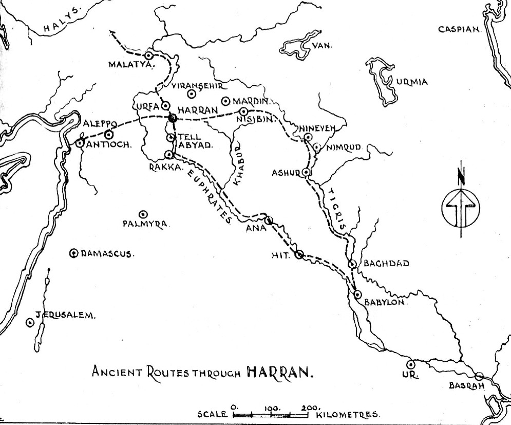 7d - Harran ancient routes, Jacob's ladder was seen outside the city of Harran, he ran into the gods supply station, watching them as their goods were unloaded from, & different goods going back to planet Nibiru, their home