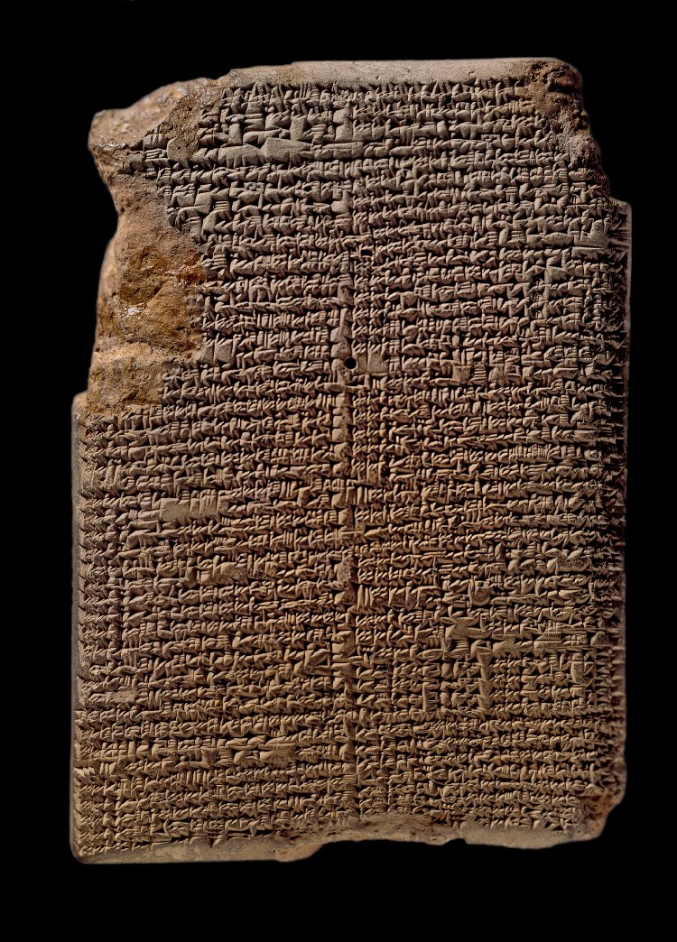 8a - artefact of Assyria, Nineveh Library Tablet, 30,000 plus artefacts were discovered in the ancient city of Nineveh, the location of the Biblical tale of Jonah & the Whale, READ THE TEXTS FROM THE ANCIENT KINGS OF ASSYRIA & ELSEWHERE ON THIS WEB SITE