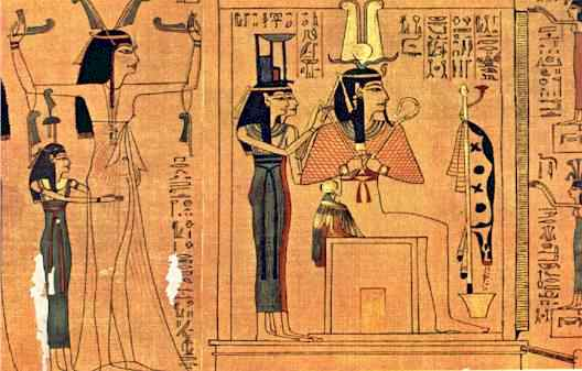 8a - Osiris & Isis, add Horus & you have the Egyptian holy trinity, a time in our long forgotten past, when the giant alien gods walked & talked with earthlings, advancing them along