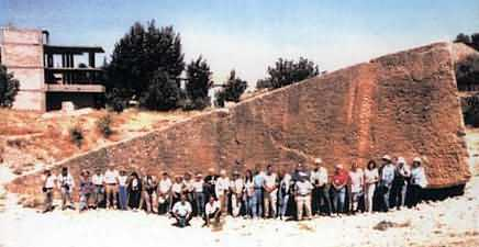 8c - Baalbek, Lebanon artefact, largest stone blocks on Earth, quarried for the structure in Baalbek, the launch & landing site for the Anunnaki gods who settled Earth Colony
