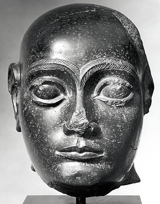 8d - Gudea as high-priest of Lagash, mixed-breeds being more intelligent, were made into leaders, being much bigger, they had fewer adversaries