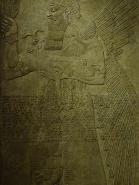 8m - winged alien Apkulla pilot wall relief artifact, the giants were upon the Earth in those days, & the days after, when the sons of god(s) came down to Earth