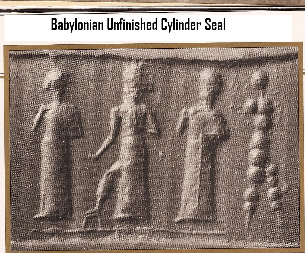 9 - Babylonian artefact of gods, all of Anu's Anunnaki from Nibiru were welcomed by Marduk in his showcase city of Babylon, unknown if any from Enlil's family ever showed up there, shamefully, idiotically, & ideologically, Mesopotamian artefacts are being destroyed by Radical Islam, attempting to eliminate any ancient historical evidence contradictory to the teachings of their prophet